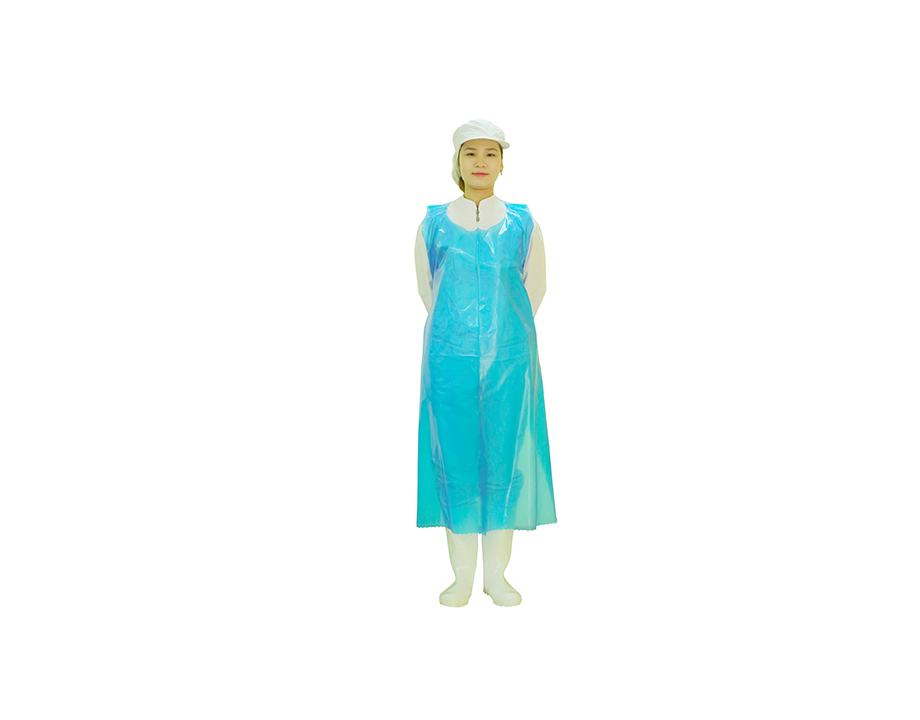 Disposable, food safe EVA / LDPE / CPE Aprons